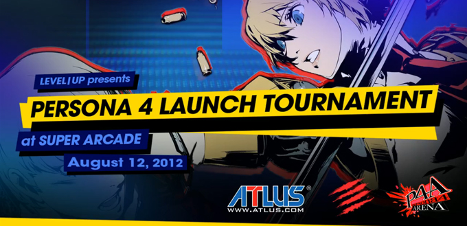 Persona 4 Arena Launch Event