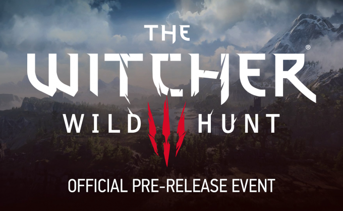 Witcher 3: The Wild Hunt Launch Event