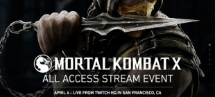 Mortal Kombat X All Access Stream Event